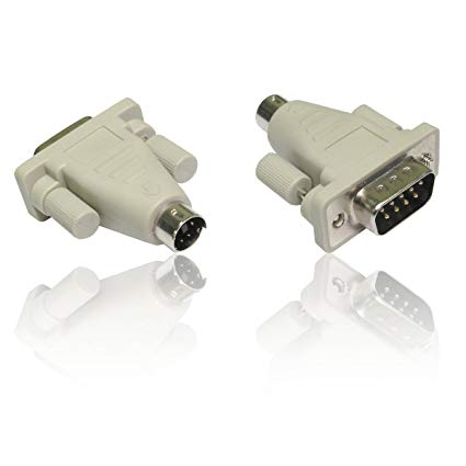 Adaptor Gender Changer Converter 9pin or 25pin Serial Male/Fem