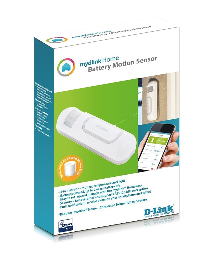DLINK DCH-Z120 MyDlink Motion Sensor Smart Home