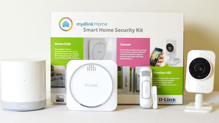 DLINK DCH-107KT MYDLINK Smart Home Security Kit