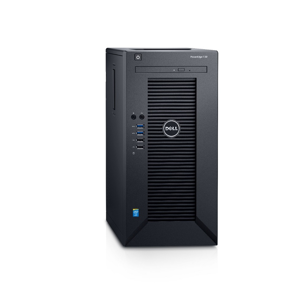 DELL Server PE T30 E3-1225v3/8GB/2x1TB/5Years NBD