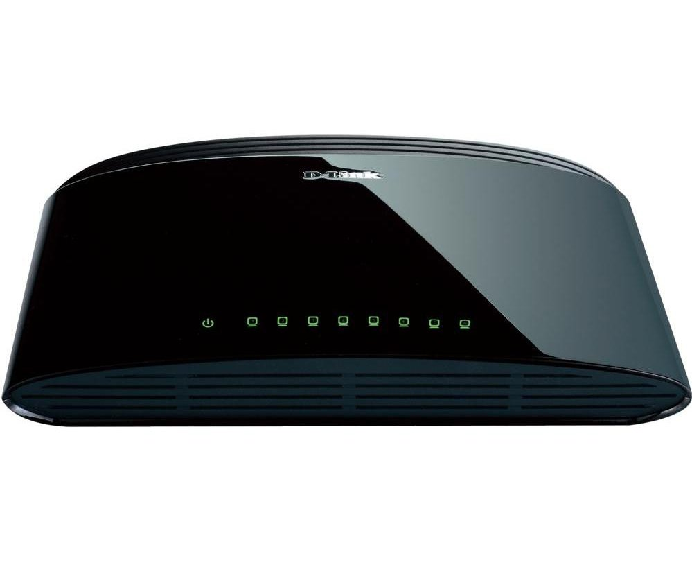 D-Link 8 port Switch 10/100 Mbit DES-1008D