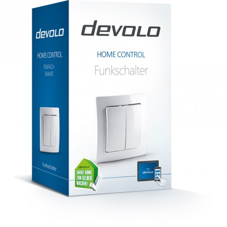 Devolo Home Control Wall Switch Smart Home 9808