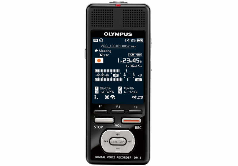 Olympus DM-5-E1 Digital Voice Recorder Λογογράφος Ψηφιακός 8Gb