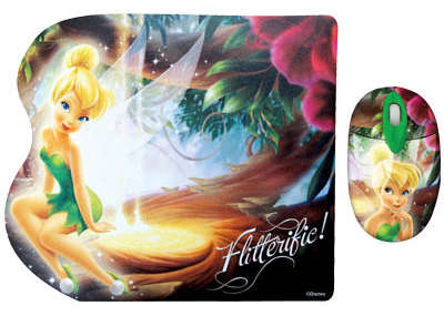 Set Ποντίκι και Mouse Pad Disney FAIRIES DSY TP7001