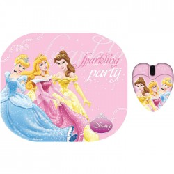 Set Ποντίκι και Mouse Pad Disney PRINCESS DSY TP2003