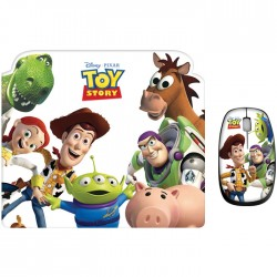 Set Ποντίκι και Mouse Pad Disney TOY STORY DSY TP8002