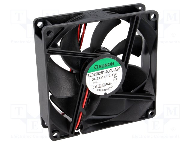 Ανεμιστήρας SUNON Cooler Fan 92x92x25mm 24VDC Slide Bearing