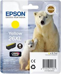Epson Set Μελανιών C13T26364010 XL Multipack 4 Ink Polar Bear