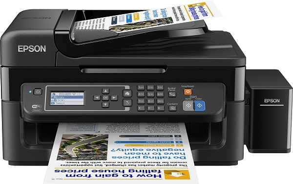 EPSON L565 ITS. A4/33ppm/2400/Fax-LAN-WiFi PSC-FAX Πολυμηχάνημα