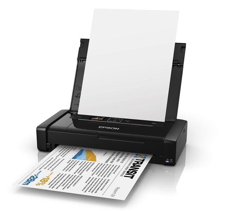 EPSON WF-100W φορητός Mono A4/37ppm/1.440/WiFi Workforce