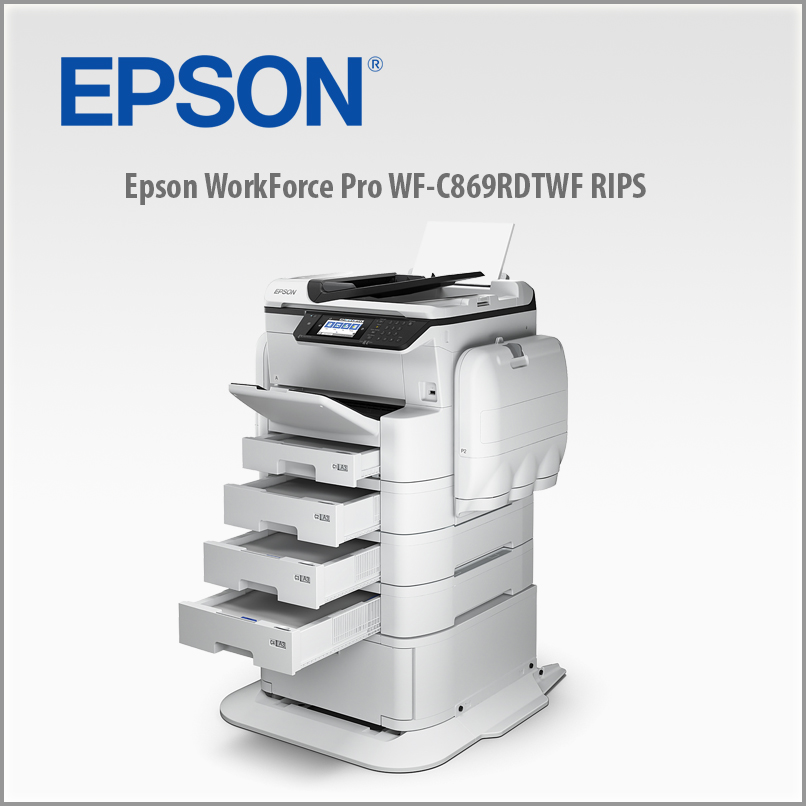 Epson RIPS WF-C869RDTWFC A3/35ppm Color PSC-FAX-WiFi