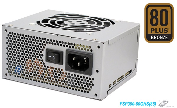 XPC POWER SUPPLY 300W Τροφοδοτικό FSP300 Micro SFX 125x100x64mm