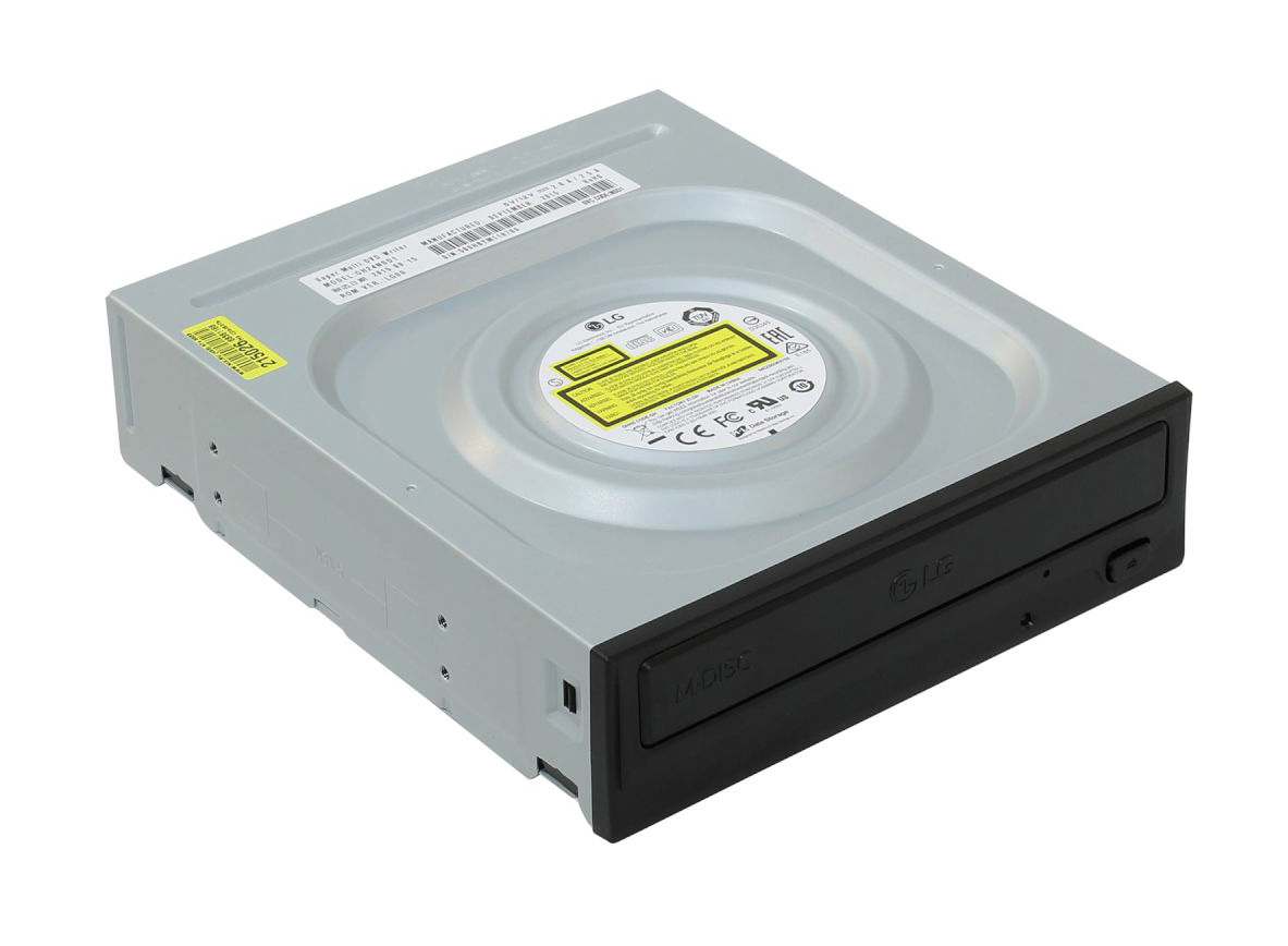 LG DVD-/+RW 24x GH24NSD1 Dual Layer Black SATA