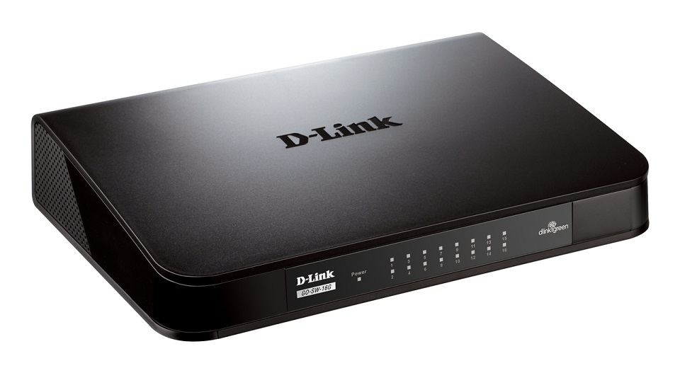 D-Link GO-SW-16G Switch 10/100/1000 Mbit 16port Gigabit