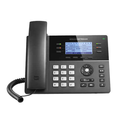 Τηλέφωνο IP Grandstream GXP1760 IP Phone (with PoE) 3SIP+6Keys