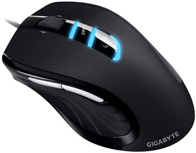 Gaming Mouse Gigabyte M6980X Black Laser Wired/USB 4D Wheel