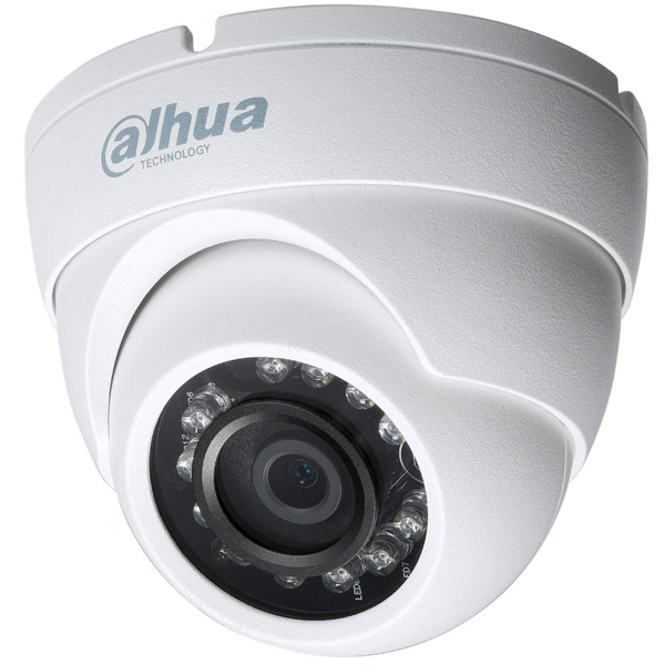 Dahua HDW1000MP Κάμερα υπερύθρων 1Mpx IR/IP67/2,8mm Hybrid