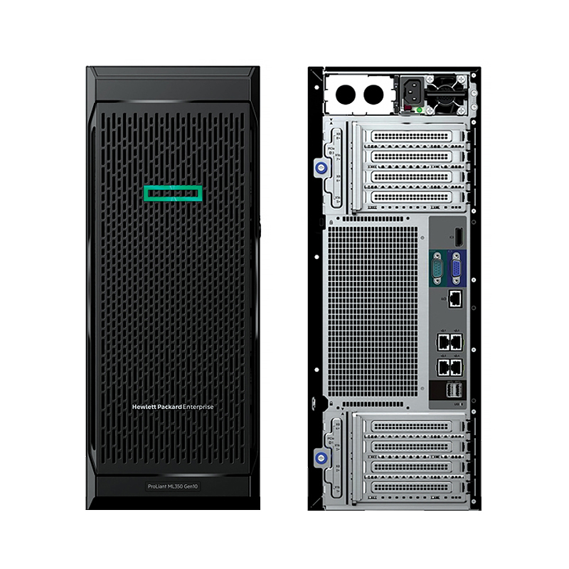 HPE ProLiant ML350 X4208 32GB 2x480SSD+4Χ2Tb NoOS Tower 5YW