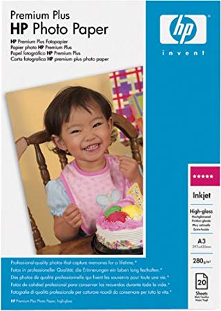 HP A3 HPQ5496A Photo Paper 280gr A3 20pages Premium Plus