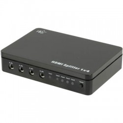 HDMI Splitter 1in/4out FullHD 3D 1080p Διακλαδωτής HDMI 4Port