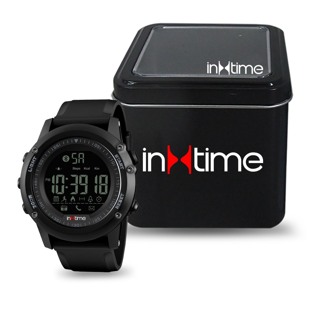 Wearable INTime SmartWatch Pedometer, Remote Cam Αδιάβροχο