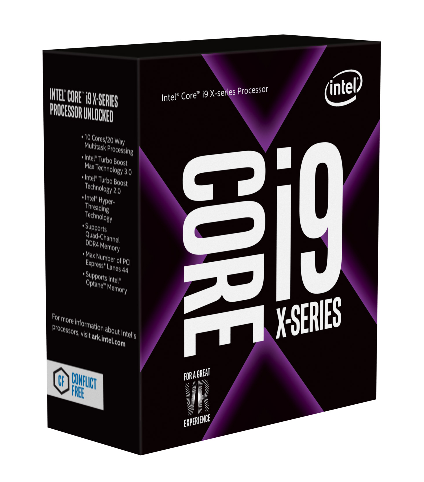 INTEL CPU Core i9-7900X, BX80673I97900X