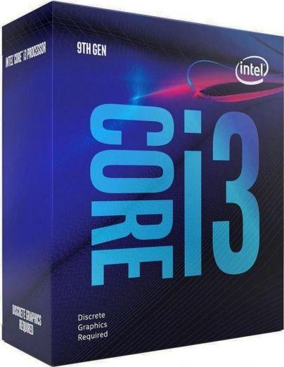 INTEL CPU CORE i3-9100F, BX80684I39100F, GT0