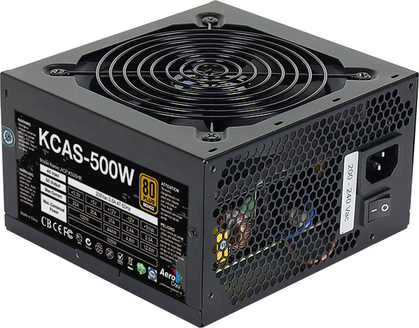 Τροφοδοτικό Aerocool 500W 12cm Fan PFC 80plus+ Bronze