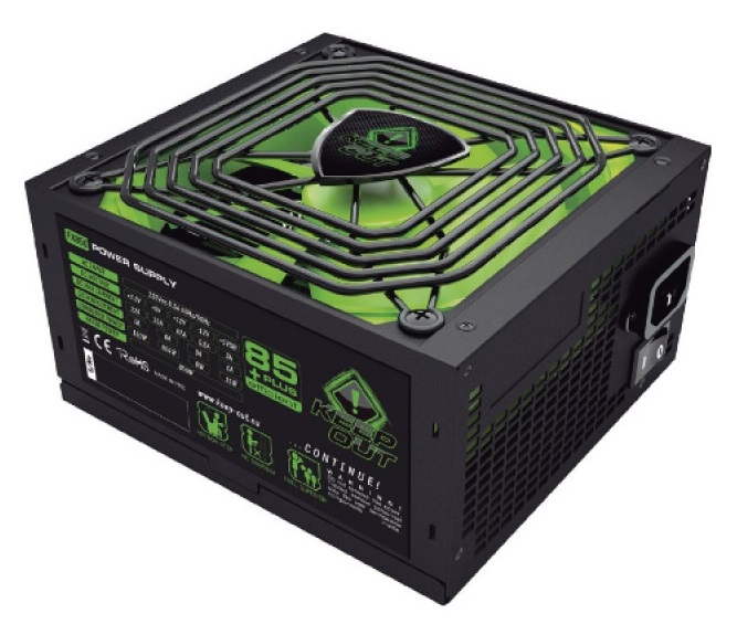 Τροφοδοτικό 700W 14cm ATX Keep Out FX700 Gaming 85+plus