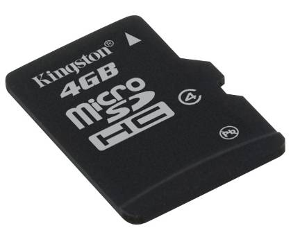 KINGSTON MicroSD 8Gb Memory Class 4 SDC4/8GB