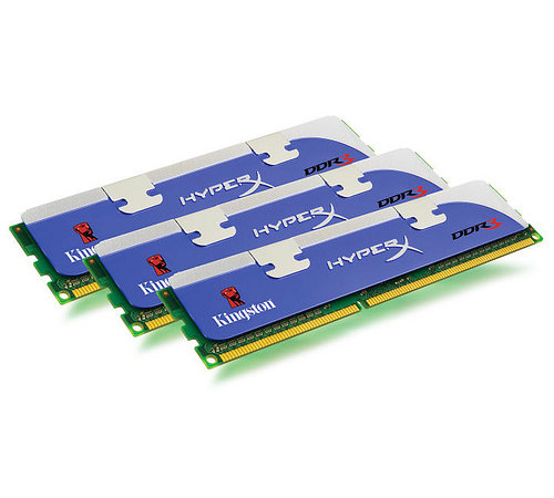 Kingston DDR3 1600Mhz 3GB Triple Channel Kit KHX12800D3LLK3/3GX