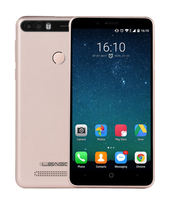 "LEAGOO Smartphone KIICAA Power 5"" HD 2/16Gb Quad 13/5 Android 7"