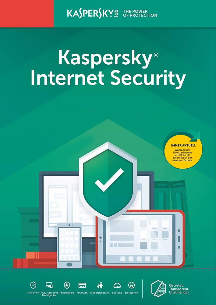 Kaspersky Internet Security 2019 1PC 1έτος