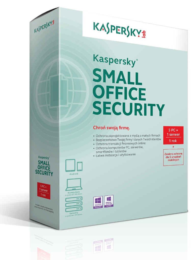 Kaspersky Small Office Security (1 SERVER + 6 WORKSTATIONS)