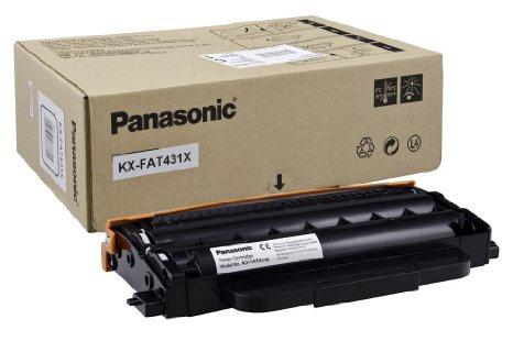 Toner Fax Panasonic KX-FAT431X Black για KX-MB2515/2545/2575