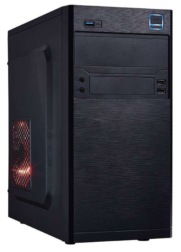 EUROCASE MC X202 mATX Case Black No PSU