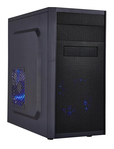EUROCASE MC X203 mATX Case Black No PSU