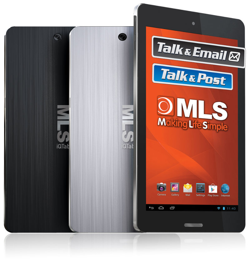 "Tablet MLS iQTab Atlas 7"" Quad 1Gb-8Gb A4.4 IPS 5Mp"