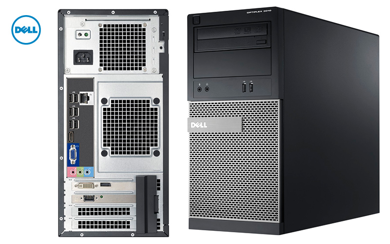 DELL PC OptiPlex 3010 DT Intel i3-3220 3.30/4G/250Gb/Win7Pro#RFB