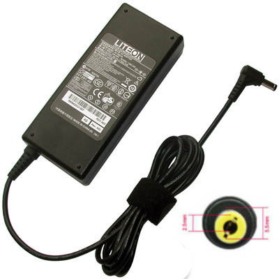 ACER Original AC Adapter 19V-3.42A (5.5 x 1.7mm) 65W SADP-65KB D