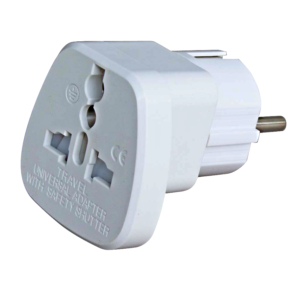Adapter Universal Power Converter EU Schuko
