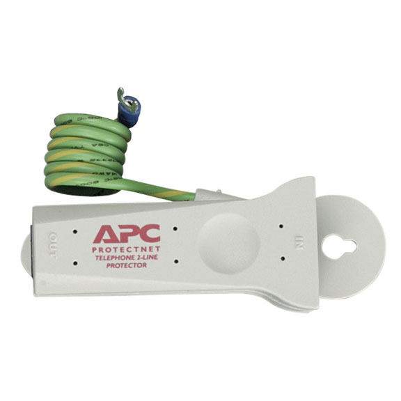 APC ProtectNet PTEL2 Surge Protector for Tel