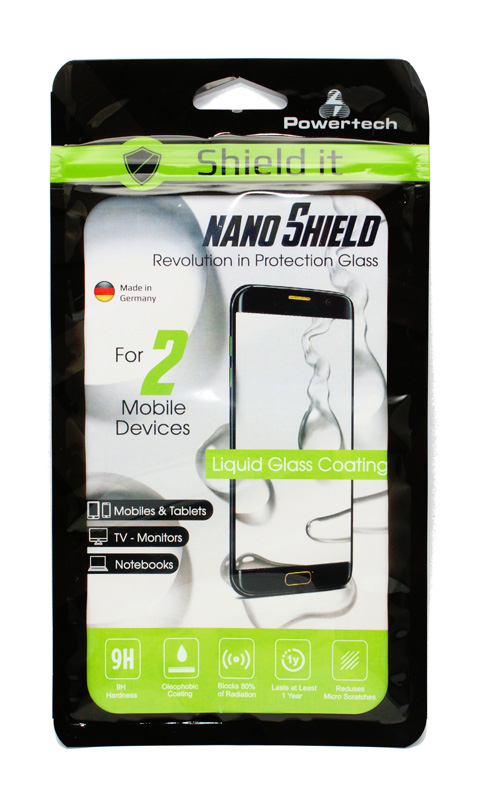 Nanoshield Liquid Protection Dual Pack προστασία Κινητών-Tablet
