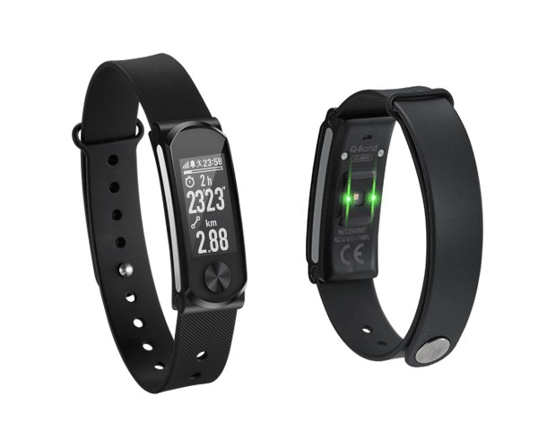 Wearable Q-BAND Heart Fitness Band Q-68HR SmartWatch