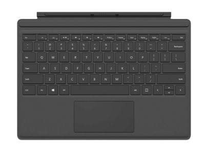 Microsoft Surface Pro 4 Type Cover Μαύρο QC7-00094