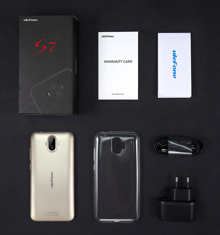 "ULEFONE Smartphone S7 3G 5"" IPS 2/16Gb Quad 8/2Mp Android"