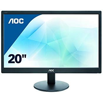 "AOC 20"" LED e2070Swn Wide 5ms/20M:1"