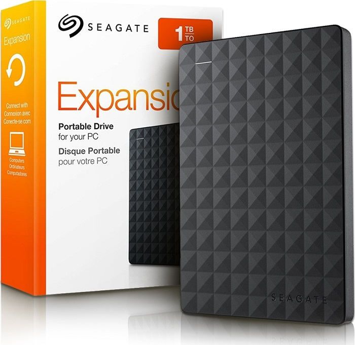 "Seagate Portable 1TB USB 3.0 2,5"" RescEdit Expansion Εξωτερικός"