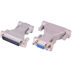 Adaptor Gender Changer Serial 25pin Male / 9pin Female (M/F)