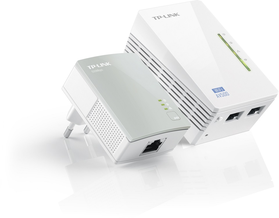 TP-LINK Powerline TL-WPA4220KIT AV500 2Pack Wi-Fi Kit